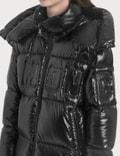 Moncler 오버사이즈 로고 온 재킷 Black Women
