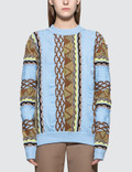 Aalto Coogi Knitted Pullover In Straight Fit 사진