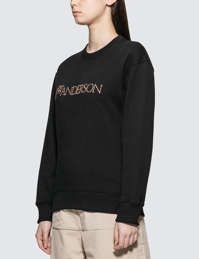 JW Anderson JWA Logo embroidery Sweatshirt