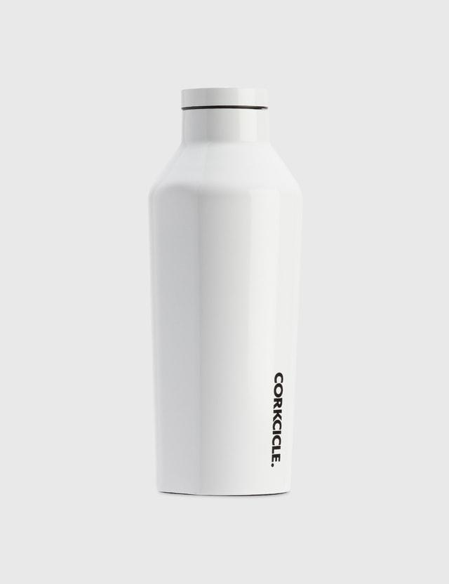 Corkcicle 9oz Canteen Bottle White Life