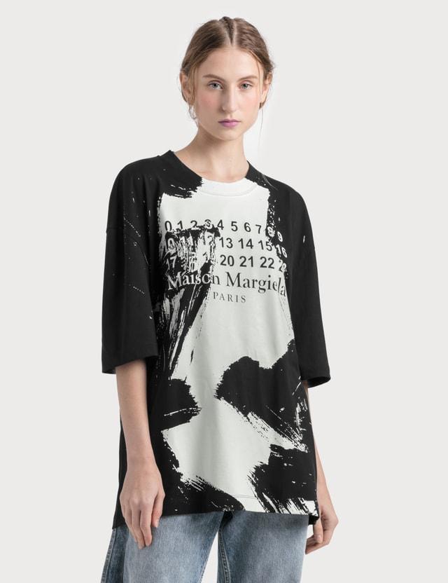 Maison Margiela Number Logo Print T-shirt