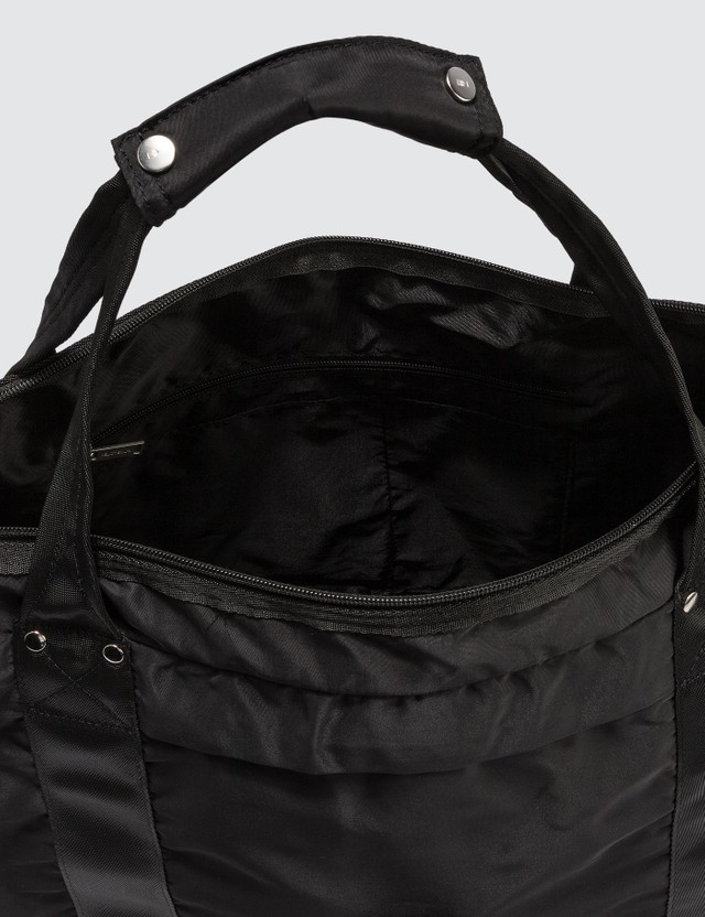 Heliot Emil Zipper Tote Bag Black Men