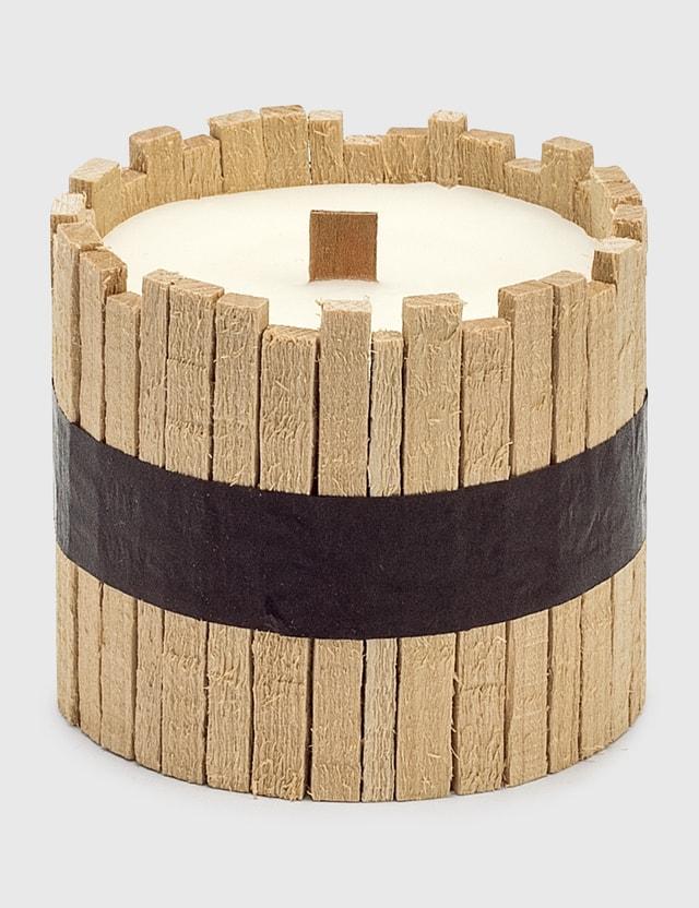 Cul de Sac Japon Hiba Wood Candle Type 01 Brown Unisex