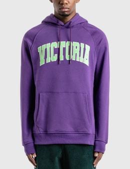 Victoria Varsity Fleece Hoodie