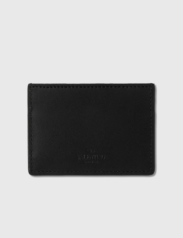 Valentino Valentino Garavani VLTN Card Holder Nero/bianco Men