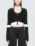 Calvin Klein Performance Color Block Crop Jacket Picture
