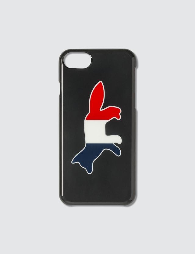 Maison Kitsune Tricolor Fox iPhone Case