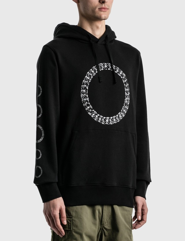 1017 ALYX 9SM Cube Chain Graphic Hoodie Black Men