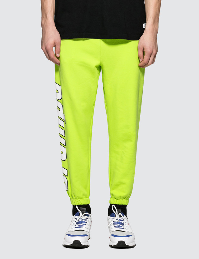 Stampd KMS Sweatpant Highlighter Yellow Men