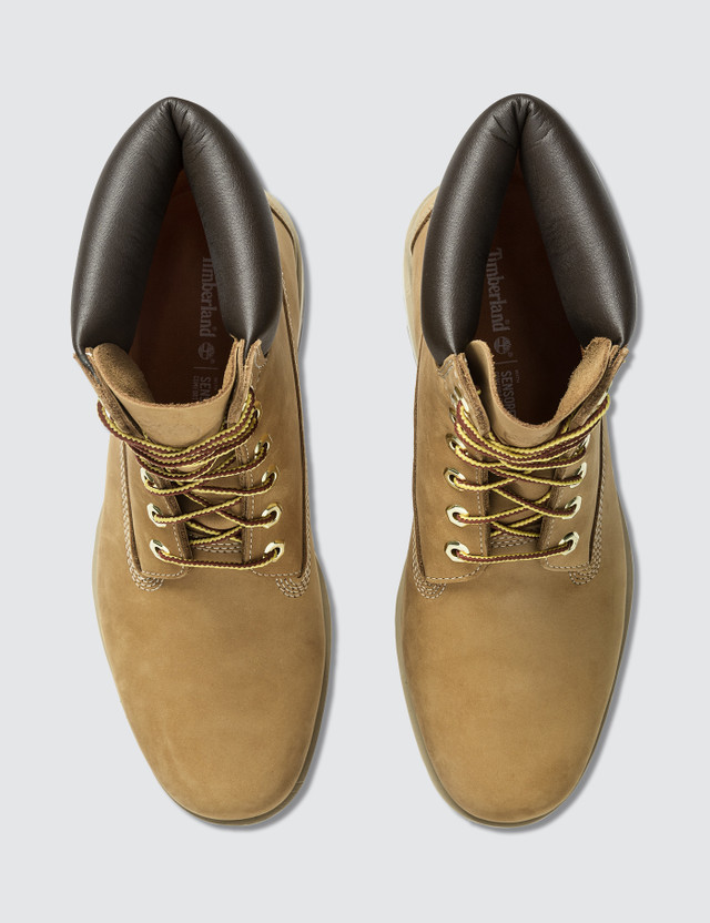 "Timberland Radford 6"" Boot WP Wheat Nubuck Men"