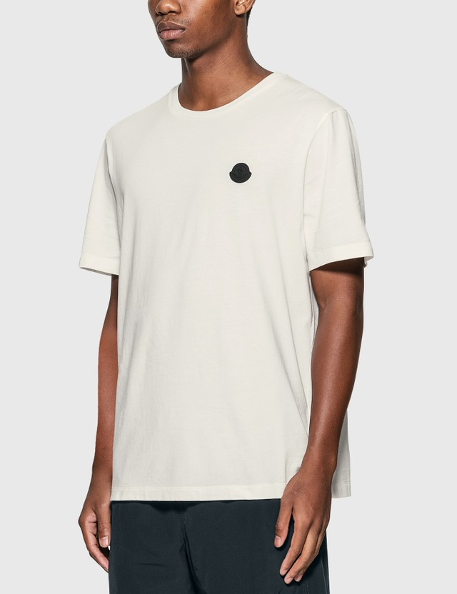 Moncler Back Graphic Print T-Shirt White Men