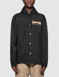 Thrasher Flame Mag Coach Jacket Picture