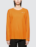 Champion Reverse Weave Long Sleeve Crewneck T-shirt Picture