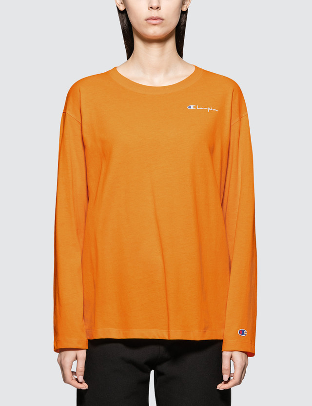 Champion Reverse Weave Long Sleeve Crewneck T-shirt