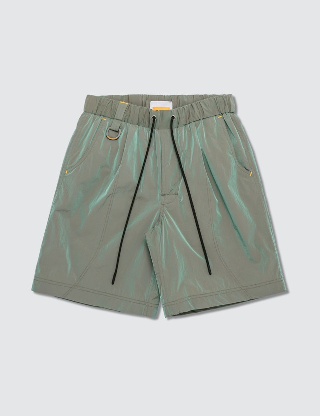 John Elliott CAT x JE Iridescent Nylon Running Shorts