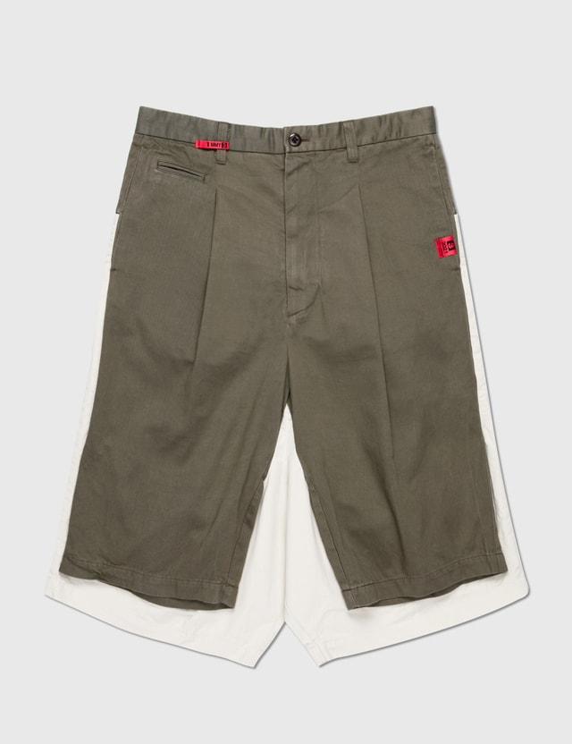 Maison Mihara Yasuhiro W-sleeve Skate Pants