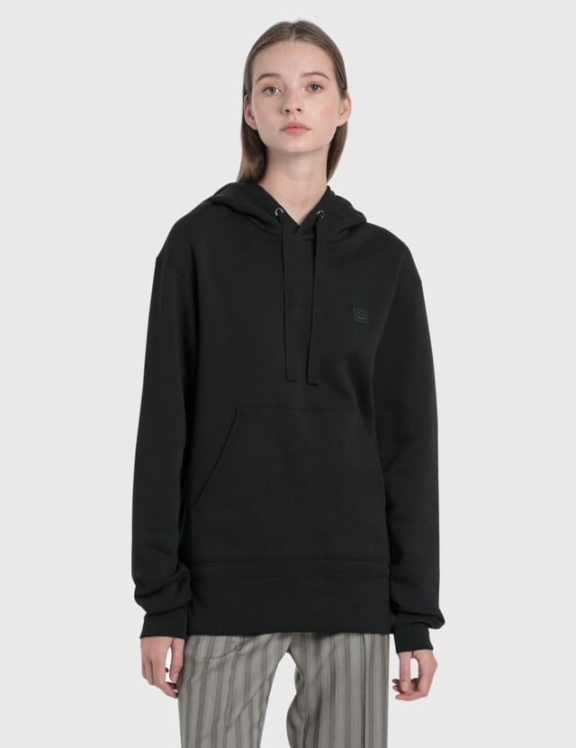 Acne Studios Ferris Face Hoodie Black Women