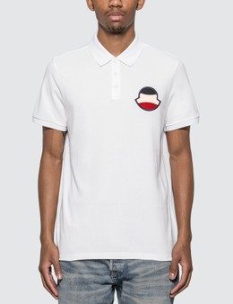 Moncler Big Logo Polo Shirt