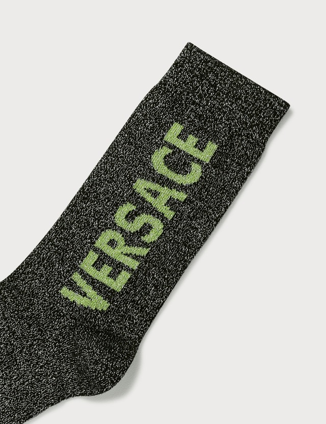 Versace Logo Socks