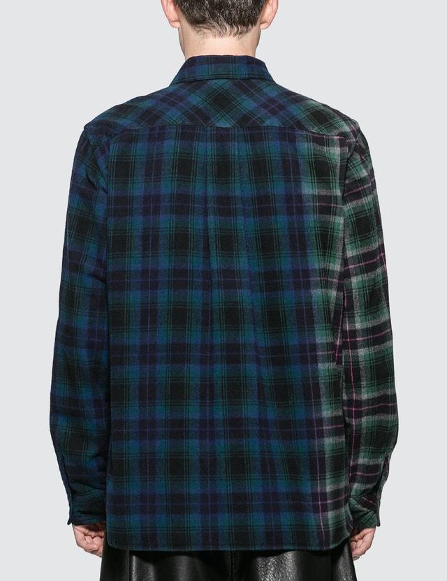 Sacai Check Flannel Shirt
