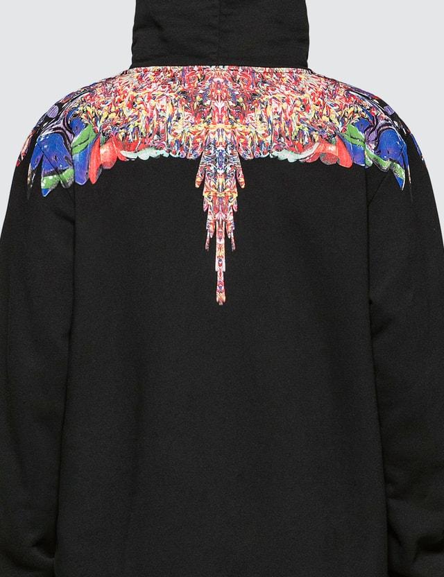 Marcelo Burlon Multicolor Wings Hoodie