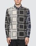 SOPHNET. Paisley Print Bandana Shirt Picture