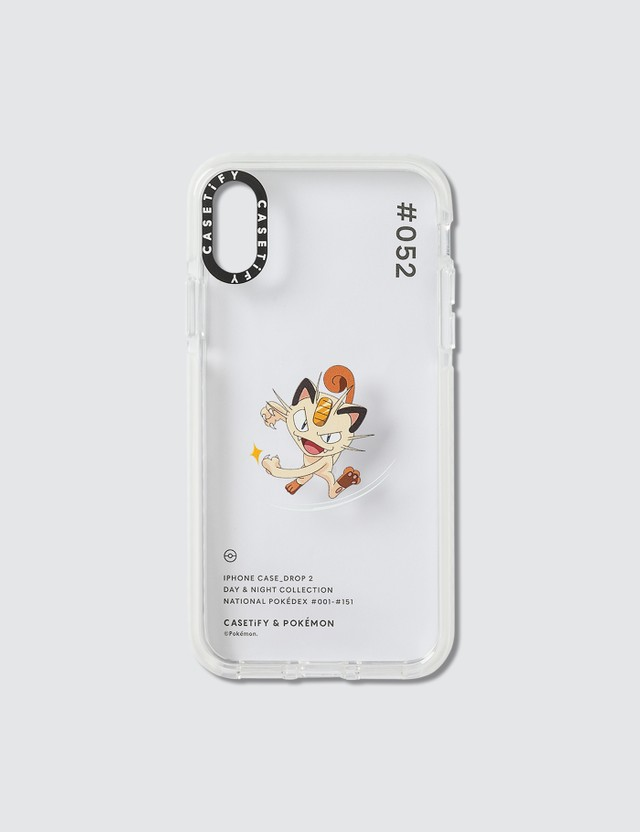 Casetify Meowth 052 Pokédex Day Iphone X/XS Case