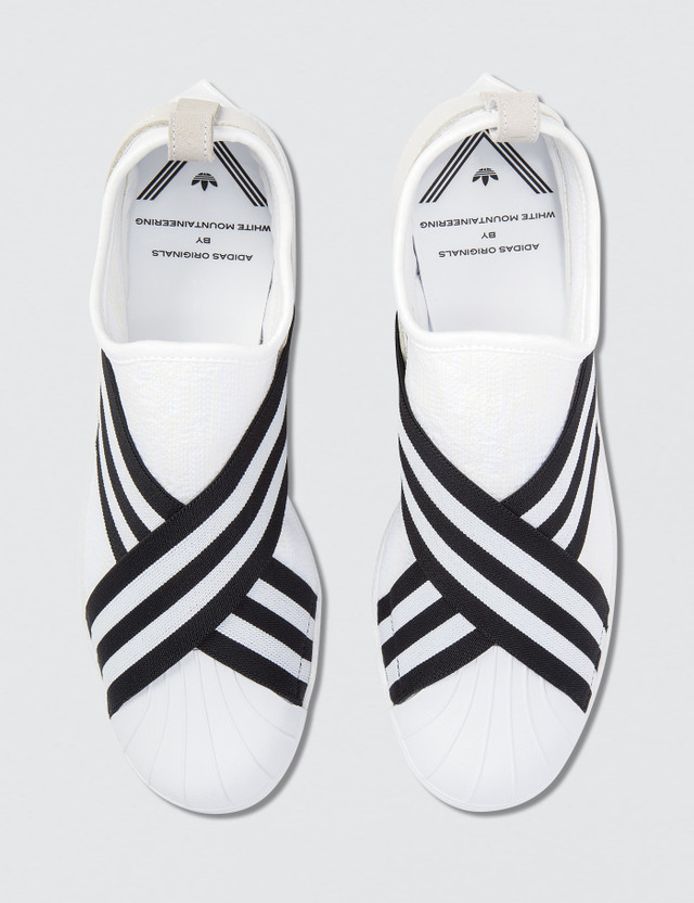 e4a7f2ef06b2 Adidas Originals x White Mountaineering White Mountaineering x adidas  Originals WM Superstar Slip On Primeknit