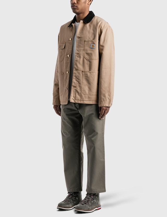 Carhartt Work In Progress OG Chore Coat Dusty H Brown / Black Men