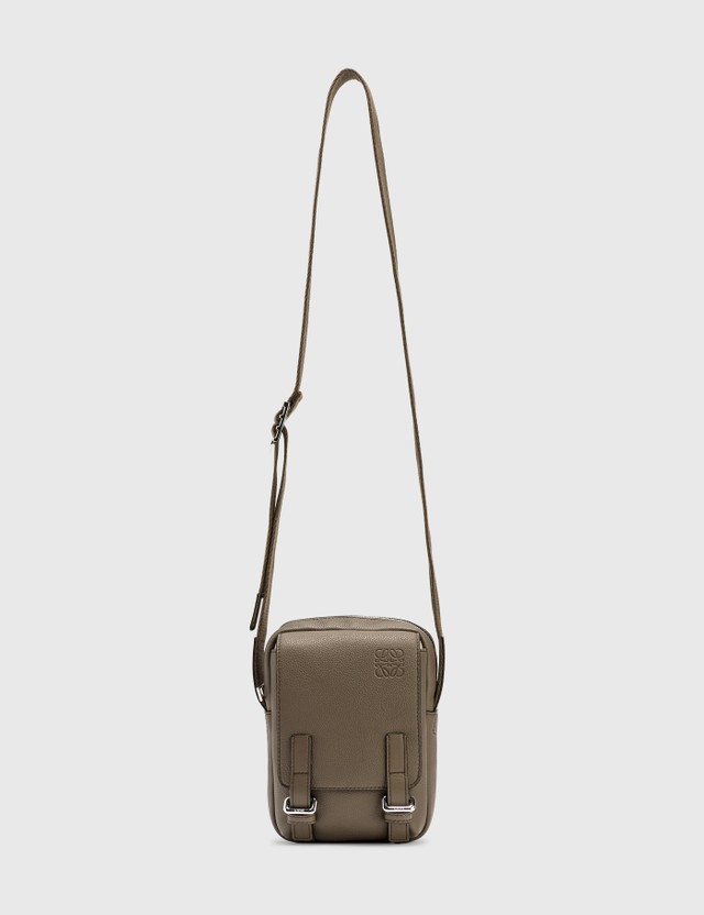 Loewe XS Military Crossbody Bag Dark Moss Men