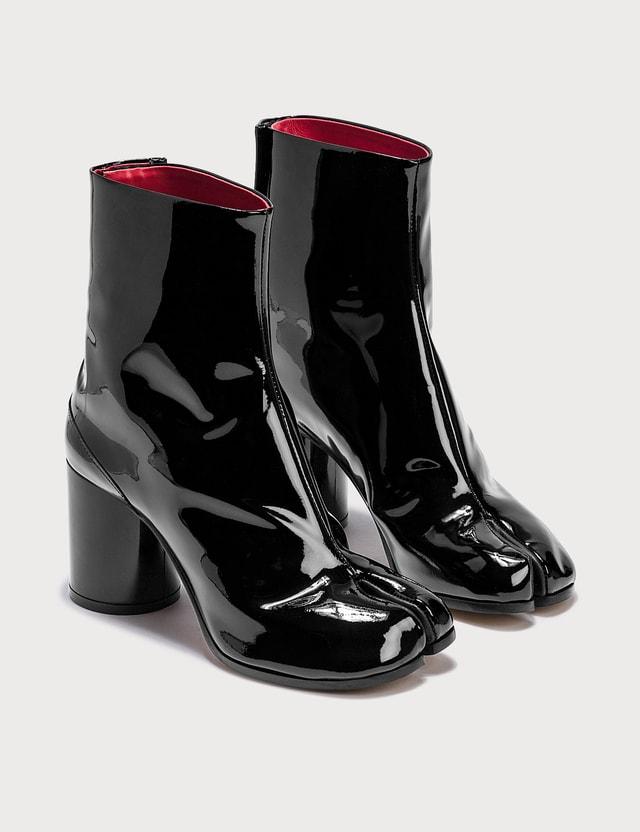 Maison Margiela Tabi Patent Ankle Boots