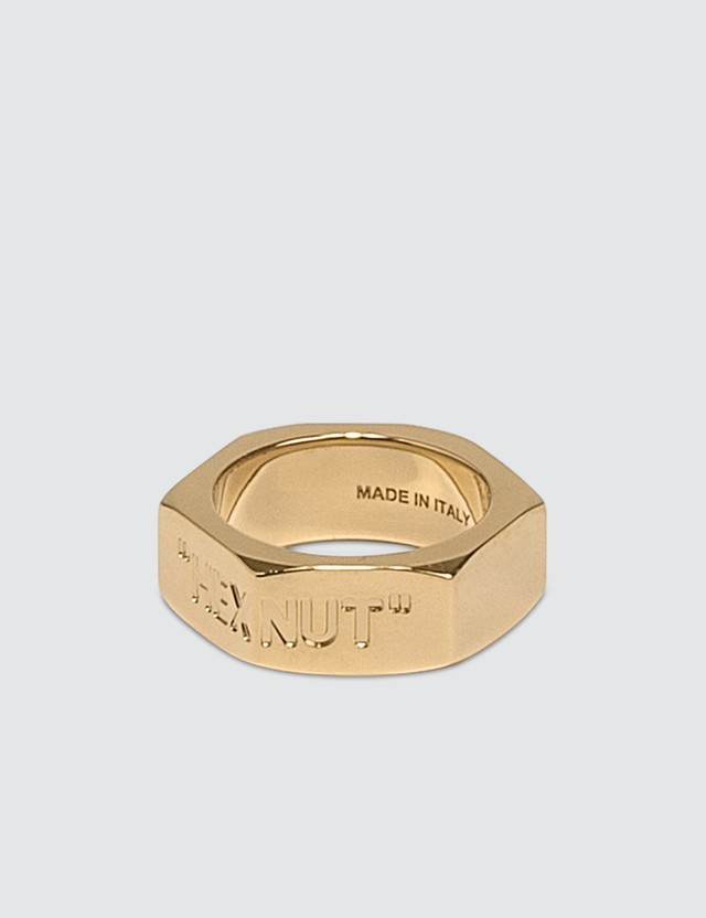 Off-White Bolt Ring