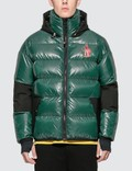 Moncler Moncler Grenoble Hooded Logo Down Jacket Picture