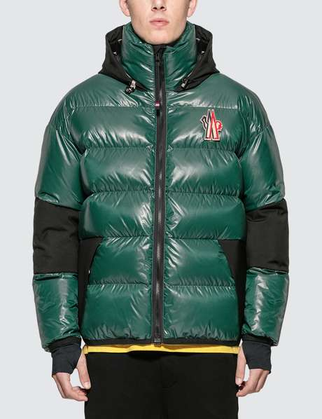 몽클레어 Moncler Grenoble Hooded Logo Down Jacket