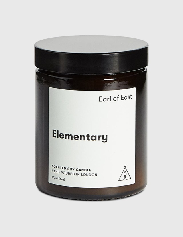 Earl Of East Elementary Soy Wax Candle N/a Unisex