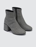 MM6 Maison Margiela Plaid Ankle Boots