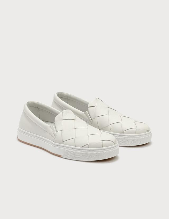 Bottega Veneta Classic Slip On Sneakers