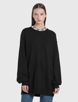 Acne Studios Future Rib Face Sweatshirt