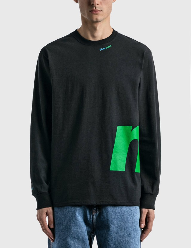 Noah Noah x New Order Long Sleeve T-shirt Black Men