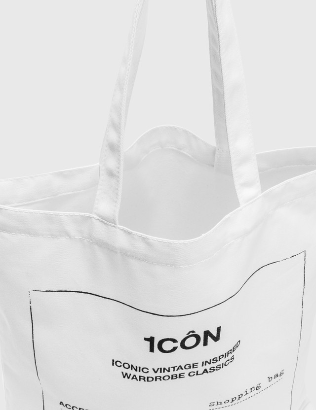 Maison Margiela 1CÔN Tote Bag White Men