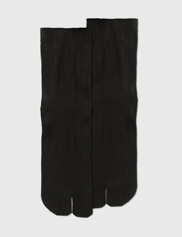 Maison Margiela Tabi Socks Black Men