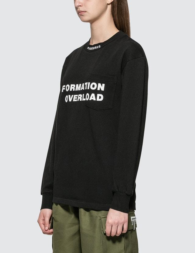 Pleasures Information Heavyweight Long Sleeve T-shirt