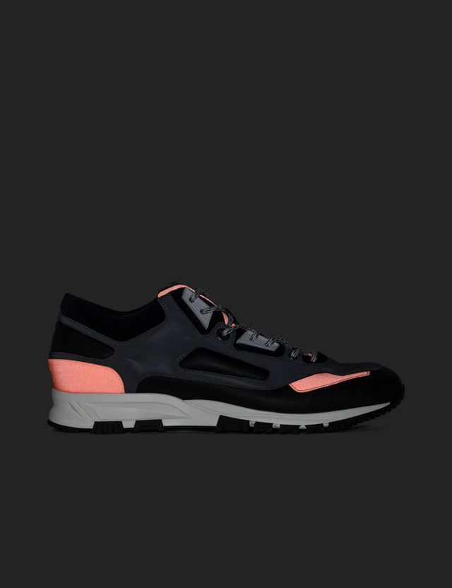 Lanvin Running Reflective Fabric Nappa/suede