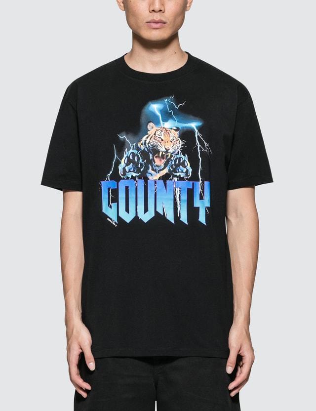 Marcelo Burlon Tiger Lightning S/S T-Shirt