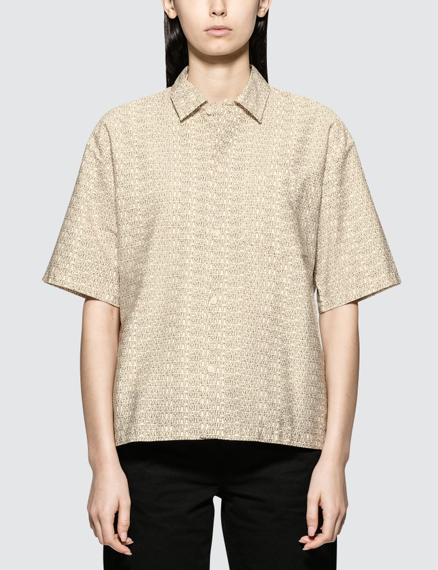 Carhartt Work In Progress Typo Short Sleeve Shirt