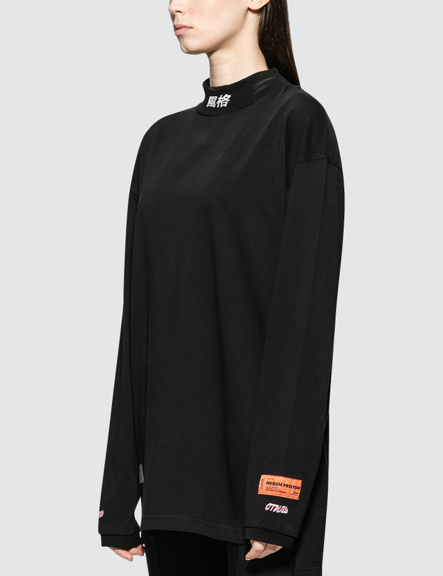 Heron Preston Turtleneck Fit Ls Ctnmb Chinese