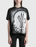 Moncler Girocollo Spray Logo T-shirt 사진