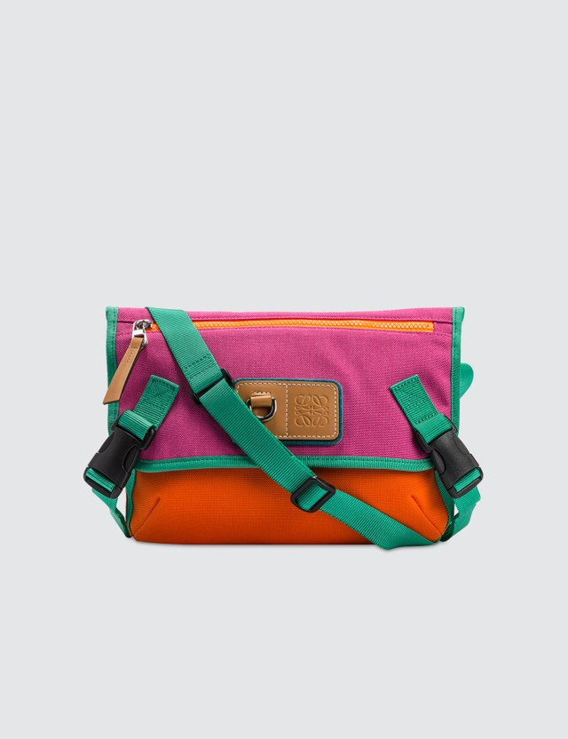 Loewe ELN Messenger Small Bag Violet/orange Men