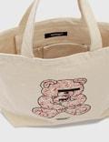 Undercover 30th Anniversary U Bear Bear Tote Bag Ivory Unisex