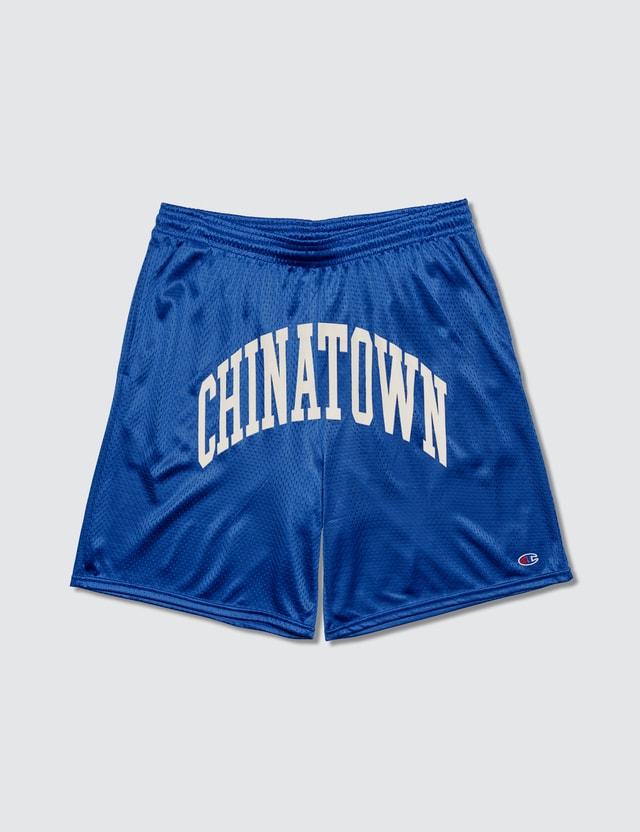 Chinatown Market Shooter Mesh Shorts